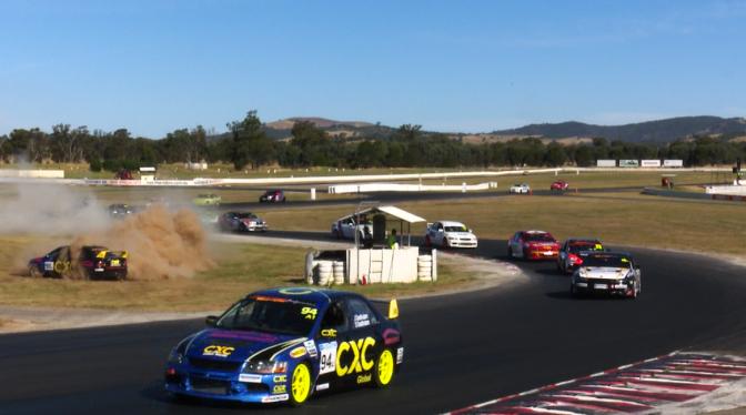 PRODUCTION CAR RACING WINTON